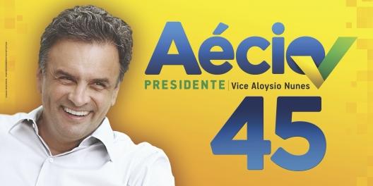 Cartel3AecioNevesPresidencialBrasil2014